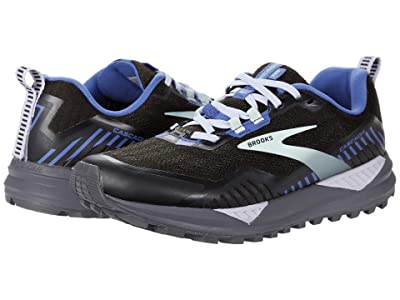 Brooks Cascadia 15 GTX(r) (Black/Marlin/Blue) Women