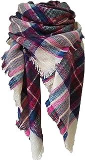 Large Tartan Fashion Women Warm Blanket Scarf Lovely Wrap Shawl
