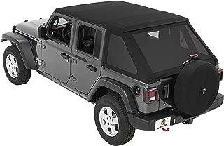 Bestop 5686335 Black Diamond 4-Door Trektop Soft Top