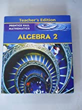 Algebra 2, Teacher's Edition