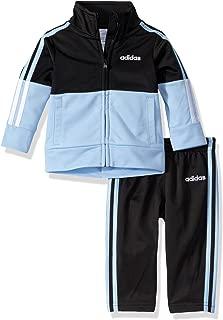 adidas Baby Boys' Tricot Zip Up Jacket and Pant Set