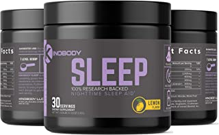 KinoBody: Kino Sleep - Natural Sleep Aid - 30 Servings - All Natural Formula -