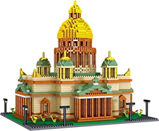 Kiev Cathedral Building Blocks, 3104 Pcs Mini Nano Bricks 3D Puzzle Toy, Gift for Adults And Kids