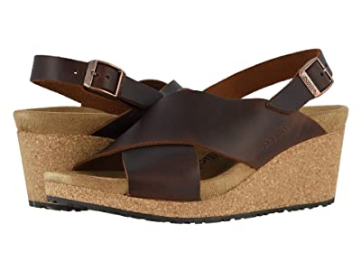 Birkenstock Samira by Papillio (Cognac Leather) Women