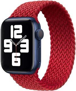 SRBH Cinturino ad Anello Solo in Tessuto 1: 1 Apple Watch SE Series 6 Cinturini 40mm 44mm per Cinturino Iwatch 5/4/3/2/1 3...