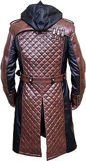Jacob Frye Coat - Creed Black and Brown Ninja Trench Coat for Men