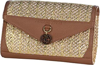 Palm Springs Dyanne Clutch Wallet Brown/Gold