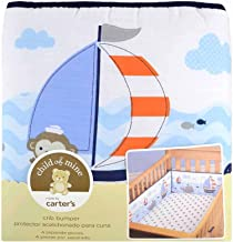 Child of Mine 4-piece Crib Bumper, Fits All Standard Cribs by Child of Mine