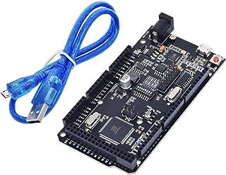 HiLetgo MEGA2560 Mega+WiFi R3 ATmega2560+ESP8266 32M Memory USB-TTL CH340G Compatible Mega NodeMCU ESP8266