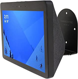 HumanCentric Wall Mount Compatible with Amazon Echo Show (2nd Generation, 2018 Release), Black | Swivels for Optimal Viewing Angle | Custom Wall Mount for Amazon Echo Show 2nd Gen