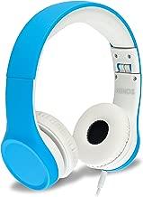 Children Headphones Kids Headphones Children's Headphones Over Ear Headphones Kids Computer Volume Limited Headphones for Kids Foldable (Blue)