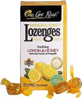 Pacific Resources Lemon & Manuka Honey with Propolis, 20Count