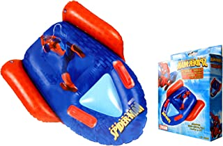 Spiderman Marvel Inflatable Surf Rider,Pool Surf Rider Official Licensed 74x60cm