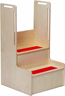 Steffy Wood Products I Can Reach Handy Steps Storage
