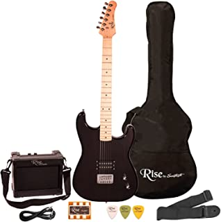Rise by Sawtooth ST-RISE-ST-BLK-KIT-1 Electric Guitar