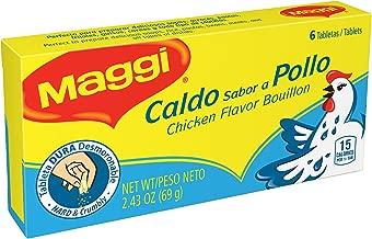 Maggi Chicken Flavor Bouillon Tablets, 2.43 oz