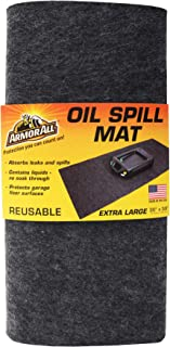 Drymate Armor All Oil Spill Mat, Absorbent/Waterproof Garage Floor Protector, Reusable/Durable...