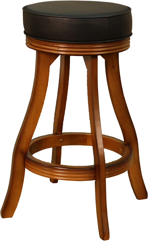 American Heritage 106606VO Designer Contemporary Counter Stool - Wood