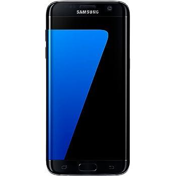 Samsung Galaxy S7 Edge Smartphone débloqué 4G (Ecran : 5,5 pouces - 32 Go - 4 Go RAM - Simple Nano-SIM - Android Marshmallow 6.0) Noir