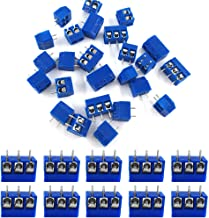 (60pcs) MCIGICM 5mm Pitch 2 Pin & 3 Pin PCB Mount Screw Terminal Block Connector