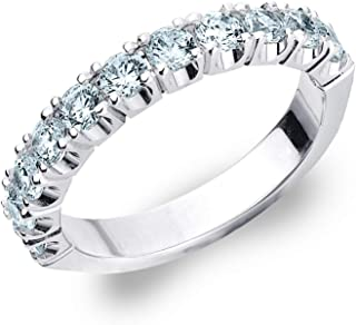 1 Carat4-Prong Ring in 14K Gold, Sparkling in E-F Color and VS Clarity