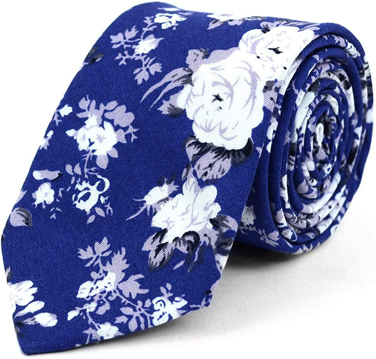 Parquet Men's Fashion Wedding Floral with Slim Box Gift Clearance SALE! Limited time! Neckties Daily bargain sale