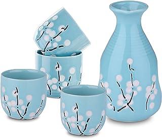 Panbado Porzellan Sake Set, Japanischer Stil, Beinhaltet 1 S