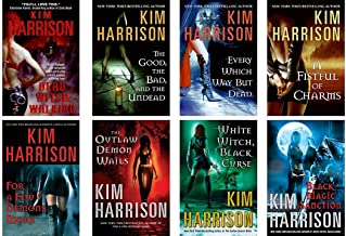 The Hollows Books 1-8 Dead Witch Wlking*The Good The Bad The Undead*Every Which Way Dead* A Fistful of Charms*For A Few De...