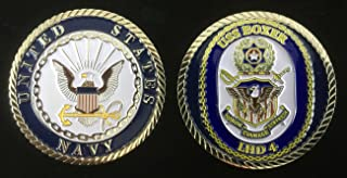USS Boxer LHD-4 (Enlisted) Challenge Coin