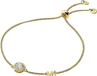 Michael Kors Women Cubic Zirconia Premium Bracelet Gold Plated