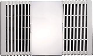 Broan-Nutone  665RP  Heater, Fan, and Light Combo for Bathroom and Home, 4.0 Sones, 1300-Watt Heater, 100-Watt Light, 70 CFM