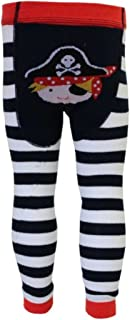 0-6 mths, 6-12 mths /& 1-2 yrs Girls and Boys Leggings by Powell Craft from Little PJs Pirate Baby Leggings Baby Tights