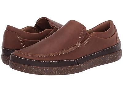 Clarks Un Lisbon Twin (Tan Oily Leather) Men