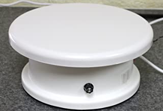 electric cake turntable with foot pedal