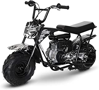Mega Moto MM-B80-SF 80CC 2.5HP - Phantom Flame without Suspension mini bike