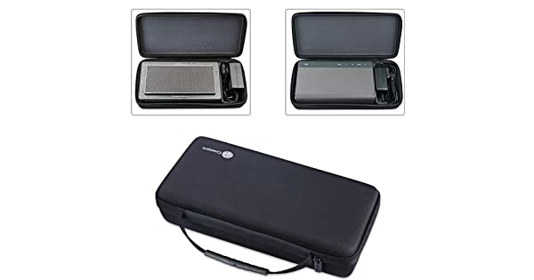 Zaracle Portable Storing Bag Carrying Case Protective Pouch Sleeve Box Cover Sheath for B/&W Bowers/&Wilkins T7 Bluetooth Speaker//Creative Sound Blaster Roar 1 Roar 2 Bluetooth Speaker