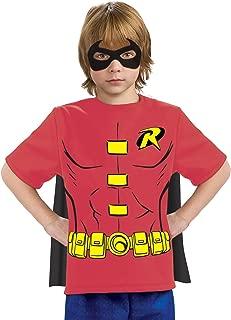 Justice League Child's Robin 100% Cotton T-Shirt - Large