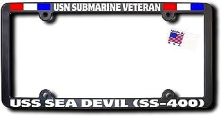James E. Reid Design USN Submarine Veteran USS SEA Devil (SS-400) License Frame W/Ribbons