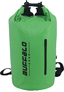 Buffalo Gear 15 Cans Leak-Proof Soft Pack Cooler Waterproof Insulated Soft Side Cooler Bag for Hiking, Camping, Sports, Pi...