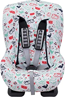 Universal Car Seat Cover Liner (Britax, Chicco, Mico and More) Dino Party