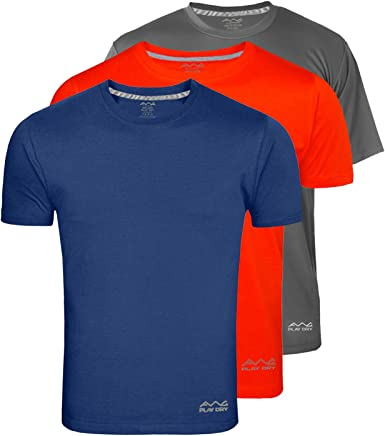 AWG - All Weather Gear Men's Polyester T-Shirt - Pack of 3