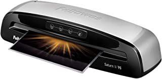 Fellowes Laminator Saturn3i 95, 9.5 inch, Rapid 1 Minute Warm-up Laminating Machine, with Laminating Pouches Kit (5735805)