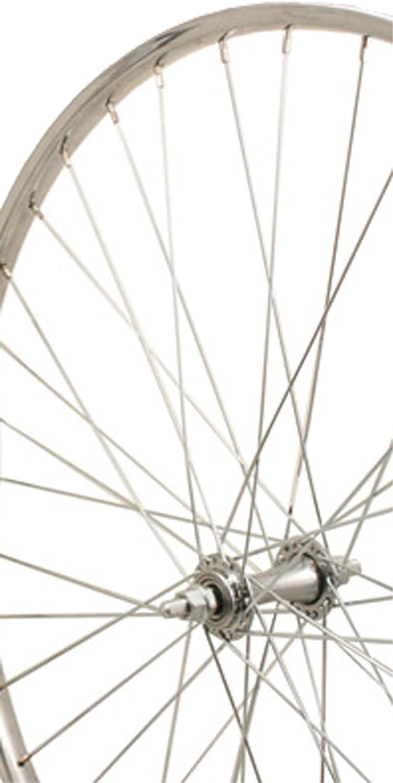 Sta Nashville-Davidson Mall Tru Silver 100% quality warranty! Steel 36H Rim Wheel Front 26X1 3 8-Inch