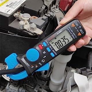 BSIDE ACM91 Digital Clamp Meter DC/AC Current True RMS Auto-Ranging 6000 Counts Multimeter Live Check V-Alert Temperature ...