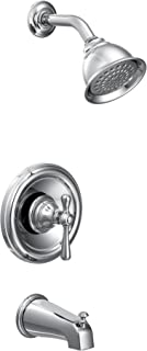 Moen T3113 Kingsley Moentrol Tub and Shower Trim Kit, Valve Required, Chrome