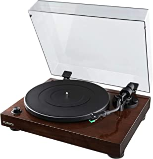 Fluance RT81 Elite High Fidelity Vinyl Turntable Record Player with Audio Technica AT95E Cartridge, Belt Drive, Built-in P...