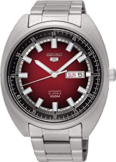 Seiko Men's Analogue Automatic Watch with Stainless Steel Strap SRPB17K1