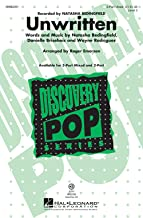 Hal Leonard Unwritten (Discovery Level 3 3-Part Mixed) 3-Part Mixed by Natasha Bedingfield arranged by Roger Emerson