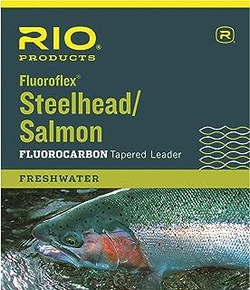 RIO Fly Fishing Steelhead/Salmon 9' 16Lb Fishing Leaders, Clear