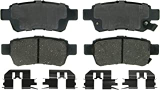 Wagner QuickStop ZD1088 Ceramic Disc Pad Set Includes Pad Installation Hardware, Rear